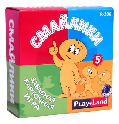 Семейная настольная игра Playland Смайлики R-206