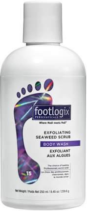 Скраб с морскими водорослями для ног FOOTLOGIX Exfoliating Seaweed Scrub, 250 мл
