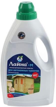Дезодорирующее средство ЛАЙНА М, для нижнего бака биотуалета, 1 л (0244)