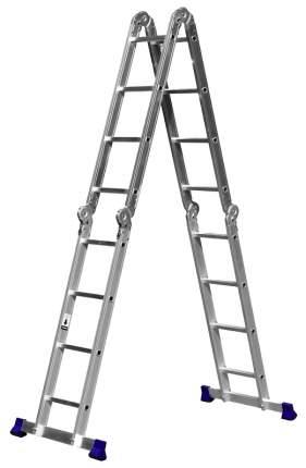 Лестница-трансформер СИБИН алюминиевая, 4х4