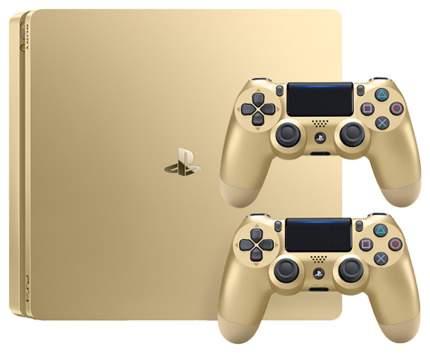 Игровая приставка Sony PlayStation 4 Slim 500Gb DualShock 4 Gold