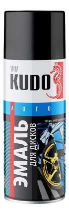 Эмаль для дисков KUDO KU203 чёрная 520 мл