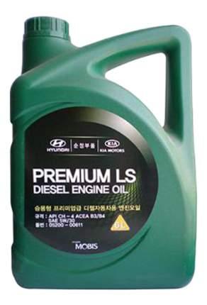 Моторное масло Hyundai-KIA Premium LS Diesel Engine Oil 5W-30 6л