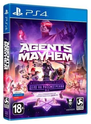 Игра для PlayStation 4 Agents of Mayhem Day One Edition