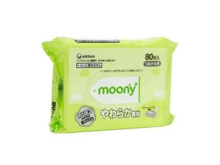 Детские влажные салфетки Moony 80 шт.