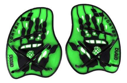 Лопатки для плавания Arena Vortex Evolution Hand Paddle 95232 зеленые (65) M