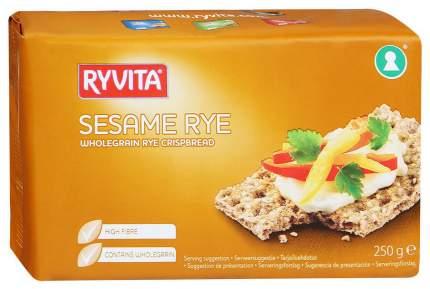 Хлебцы Ryvita Из цельного зерна c кунжутом sesame 12 штук