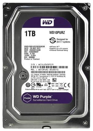 Внутренний жесткий диск Western Digital Purple 1TB (WD10PURZ)