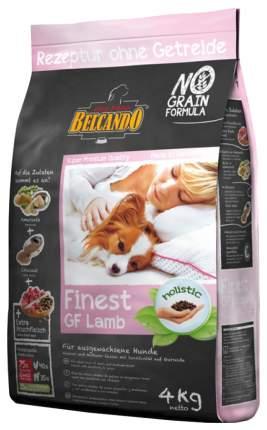 Сухой корм для собак BELCANDO Finest GF Lamb, ягненок, 4кг
