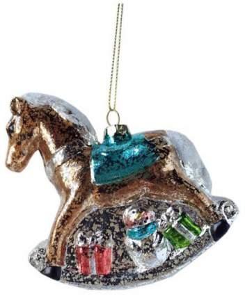 Елочная игрушка Новогодняя сказка Лошадка 11 см