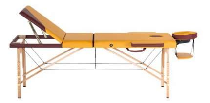 Массажный стол US Medica Sakura желтый/коричневый