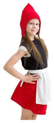 Карнавальный костюм Бока Красная шапочка 971 рост 134 см