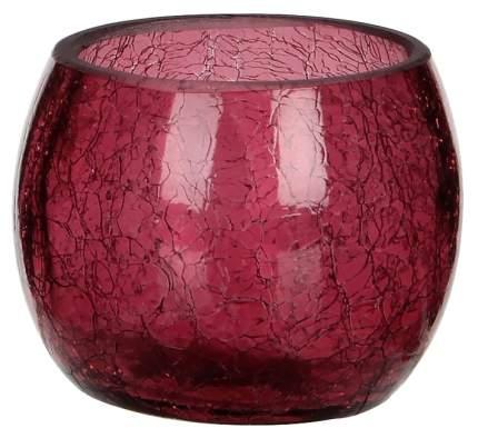 """Подсвечник """"Lami"""" розовый кракелюр, 7*8 см 123351"""