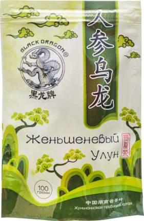 Чай зеленый Black Dragon женьшеневый улун 100 г
