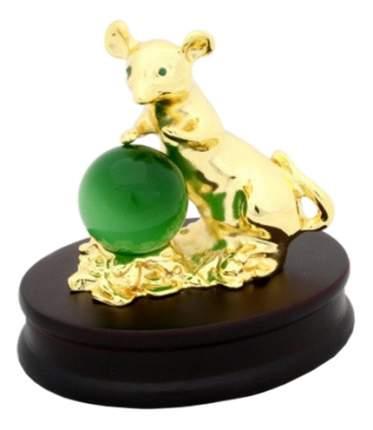 Фигурка мышь золотая на подставке Neogift Е77000