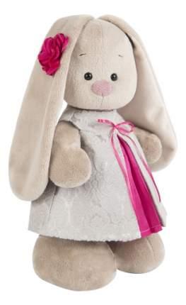 Мягкая игрушка BUDI BASA Зайка Ми в Платье Из Жаккарда Большая Stm-198