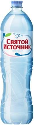 Вода Святой Источник негазированная пластик 1.5 л