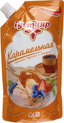 Сгущенка вареная Густияр карамельная 8.5% с сахаром 270 г