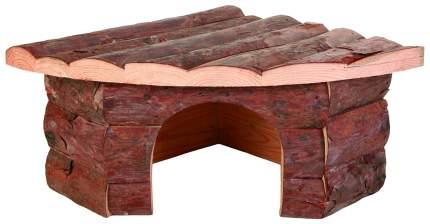 Домик для грызуна TRIXIE дерево, 21х13х32см, цвет коричневый