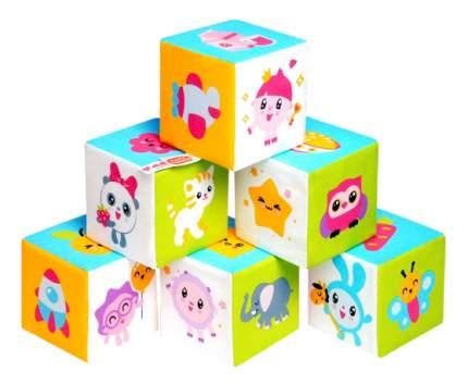 Кубики мягкие Предметики Малышарики Мякиши Р92434