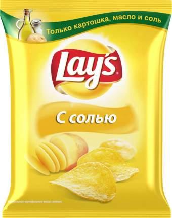 Картофельные чипсы Lay's с солью 80 г