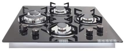 Встраиваемая варочная панель газовая Ginzzu HCG-441 Black