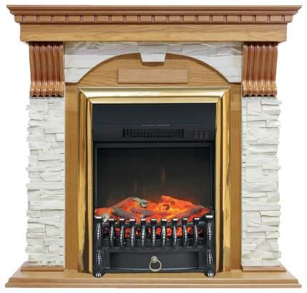 Электрокамин Royal Flame Dublin, белый дуб