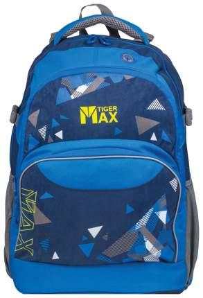 Рюкзак городской Tiger Family синий/голубой