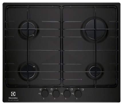 Встраиваемая варочная панель газовая Electrolux EGG96242NR Black