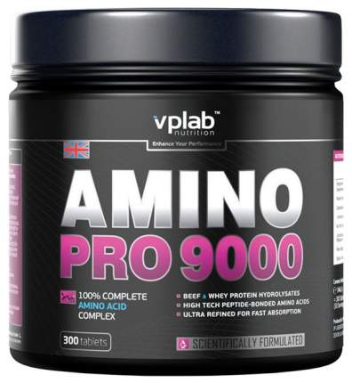 Amino Pro 9000 VPLab, 300 таблеток