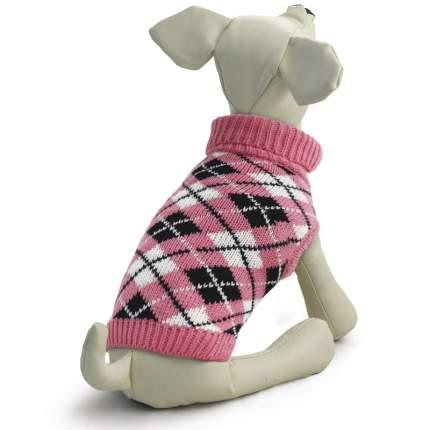 Свитер для собак Triol размер M женский, розовый, длина спины 30 см