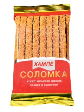 Крекер с кунжутом Hamle соломка 50 г