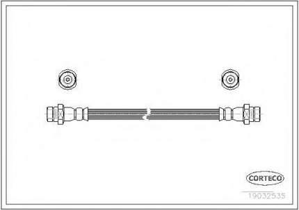 Шланг тормозной Corteco 19032535