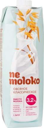 Напиток овсяный Ne moloko классический 3.2% 1 л