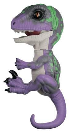 Интерактивное животное WowWee Fingerlings Рейзор Untamed Dino фиолетовый темно-зеленый