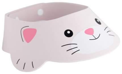 Козырек защитный для купания ребенка Roxy-Kids розовый котёнок