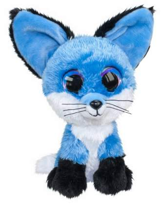 Мягкая игрушка Tactic Лисёнок Blueberry, синий, 24 см