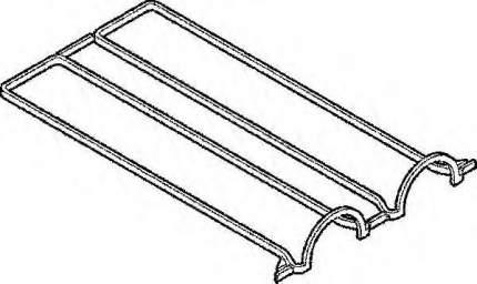 Прокладка крышки гбц Elring 389110