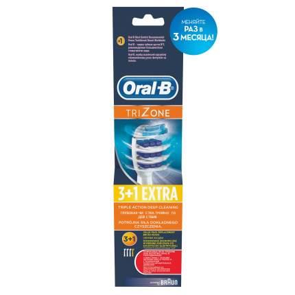 Насадка для электрической зубной щетки Oral-B EB30 TriZone 4шт