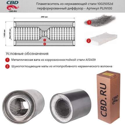 Пламегаситель универсальный CBD PLIN100