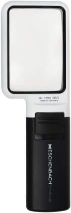 Лупа асферическая Eschenbach mobilux LED 4.0х ручная с подсветкой 75 х 50 мм