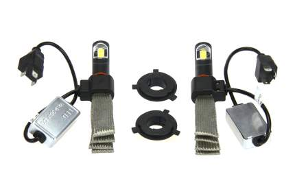 Светодиодные лампы Vizant G6 цоколь H4 с чипом COB-Epistar 3200lm 5000k (цена за 2 лампы)