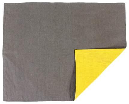 Салфетка под приборы с декоративной обработкой Essential 35х45 серый