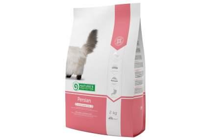 Сухой корм для кошек Nature's Protection Persian, персидская, птица, 2 кг