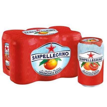 Напиток б/алк газ S.Pellegrino красный апельсин 0.33 л ал/б по 6 шт