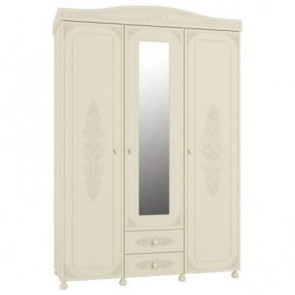 Платяной шкаф Компасс-мебель Ассоль плюс АС-27 KOM_AC27_1_plus 152,8x56,6x223, ваниль