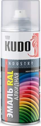 Эмаль KUDO универсальная RAL 9005 реактивный черный