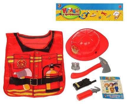 """Игровой набор """"Играем в профессии"""" - Пожарный, 6 предметов Забияка"""