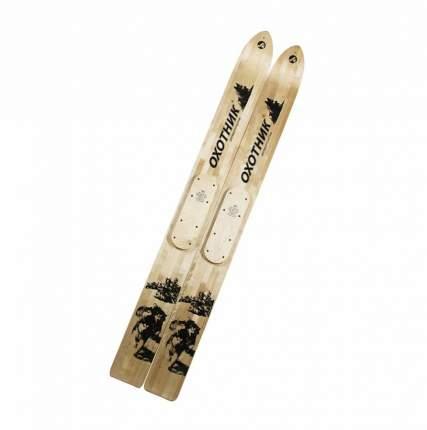 Лыжи Охотник дерево-пластик степ (ширина 15 см), 155