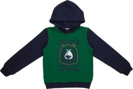 Толстовка Elaria Зеленый р.104